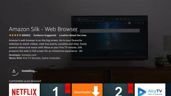Silk Browser Install 8