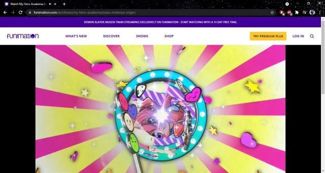 Stream Funimation Website on Windows 4