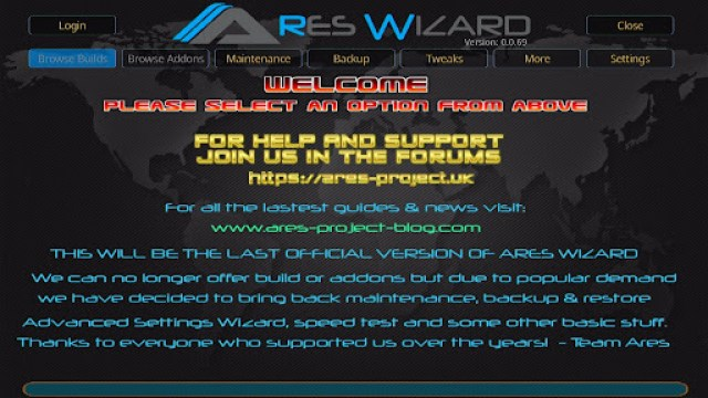 Install Ares Wizard Kodi Addon 17