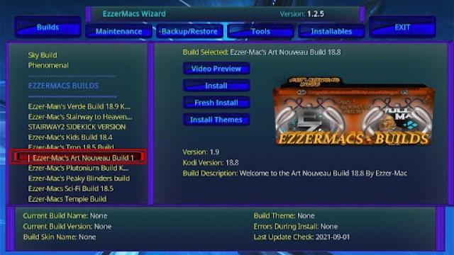 Install EzzerMacs Build on Kodi 27
