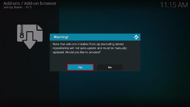 Install Fluxus IPTV Kodi Add-on 12