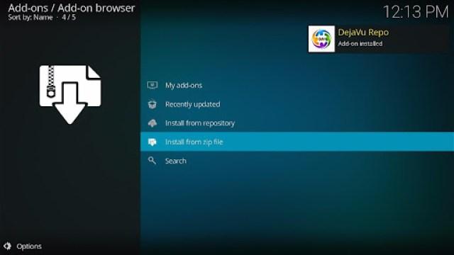 Install Fluxus IPTV Kodi Add-on 15