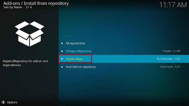 Install Fluxus IPTV Kodi Add-on 17