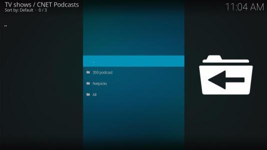 Install CNET Podcasts Kodi Addon 11