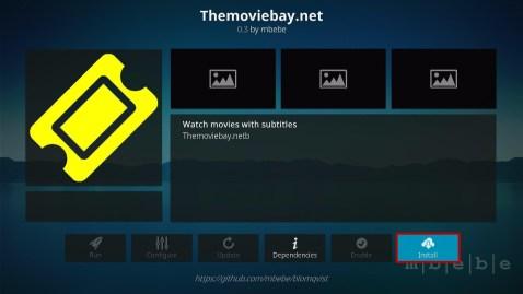Install Themoviebay.net Kodi Addon 19