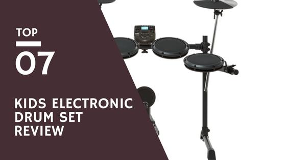 Kids Electronic Drum Set Review