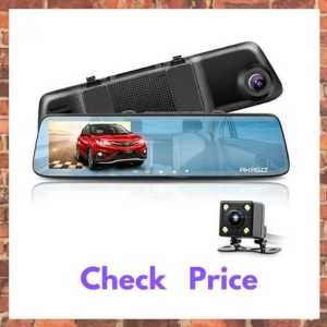 AKASO Touch Screen 1080P Rear View Mirror Dash Cam (DL2)