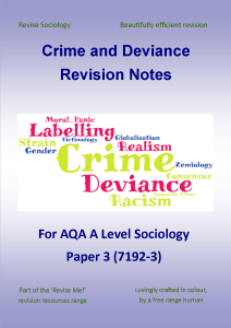 Hirschis Social Control Theory Of Crime  Revisesociology If You Like This Sort Of Thing Then You Might Like My Crime And Deviance  Revision Notes   Pages Of Revision Notes Covering The Following Topics Essays Topics In English also Personal Essay Samples For High School  Personal Essay Thesis Statement Examples