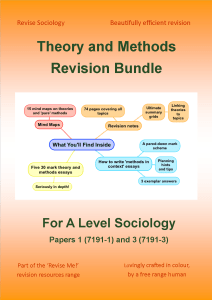 Theory Methods Revision Cover