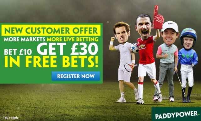 with a matched betting strategy you can keep about £25 of the free £30 risk free