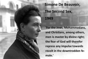 Simone de Beauvoir: Religion and the Second Sex