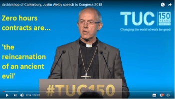 Religion and Conflict: The Archbishop of Canterbury's Crusade Against Neoliberalism….