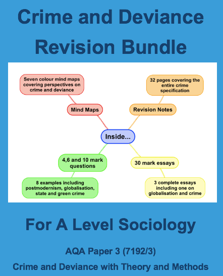 Crime Deviance A-Level Revision