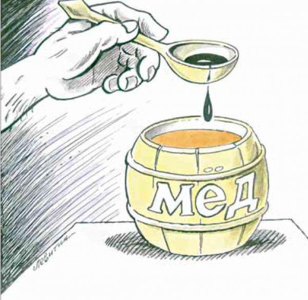 В каждой бочке меда есть ложка дегтя