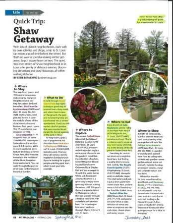 A magazine article. Image by Butler'sPantry.