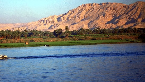 The river Nile. Image credit historymuseum.ca