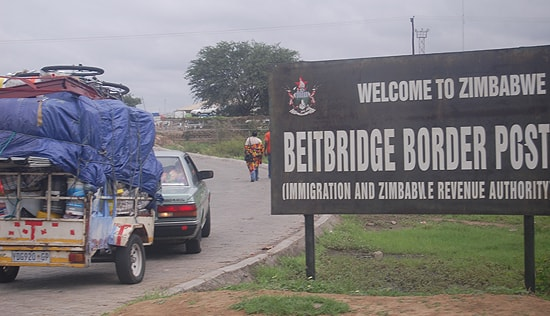 Beitbridge border post. image credit thezimbabwemail.co.zw