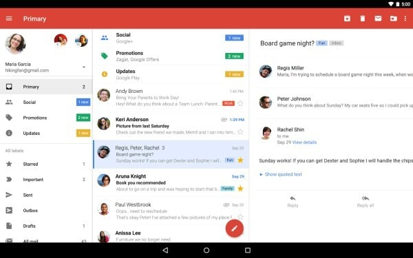 Gmail app. Image credit play.google.com