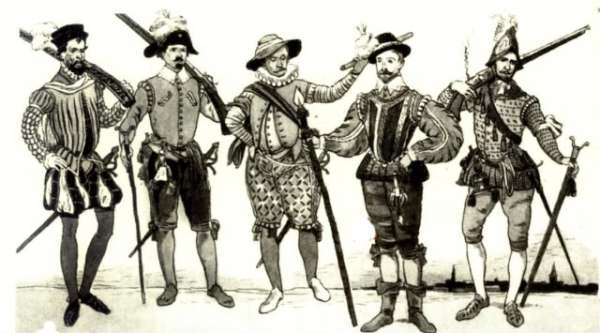 Early Portoguese Soldiers. Image credit twcenter.net