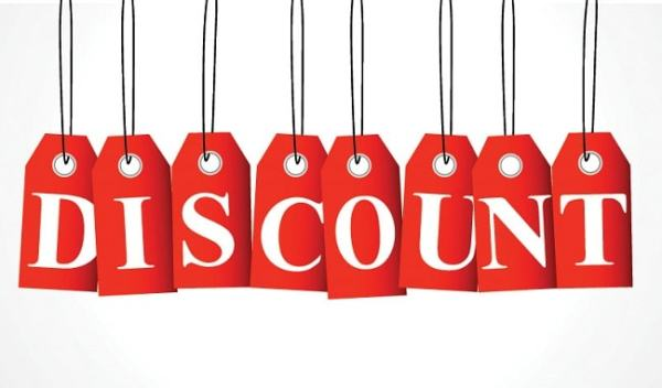 Cash Discount. Image credit wiser.com