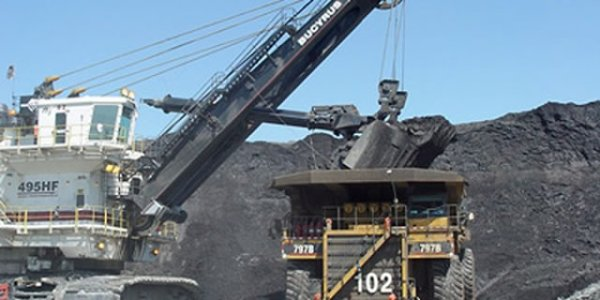 Coal Mining at Hwange. Image credit chronicle.co.zw