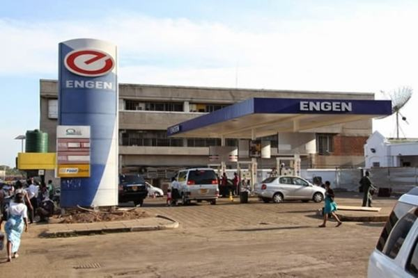 Engen Garage. Image credit chronicle.co.zw