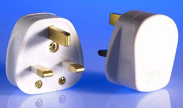 Three pin plug