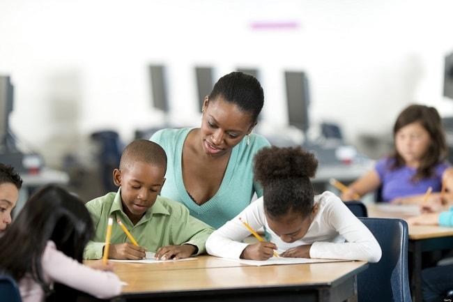 Teachers receive a time rate pay. Image credit tlantablackstar.com