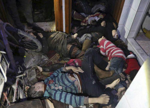 El pueblo sirio atrapado