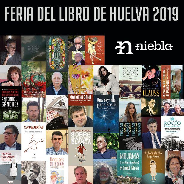 Editorial Niebla llevará a la Feria del Libro de Huelva a 21 autores onubenses
