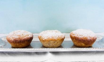 Muffins de plátano y ron