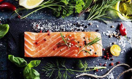 Gravlax de salmón