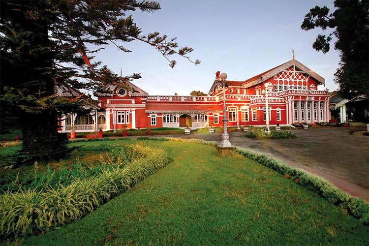 hoteles palacio en india