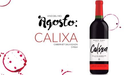 Agosto: Calixa Cabernet Sauvignon Syrah