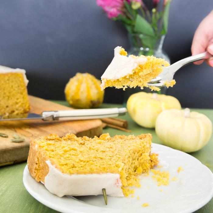 panque de calabaza pumpkin spice