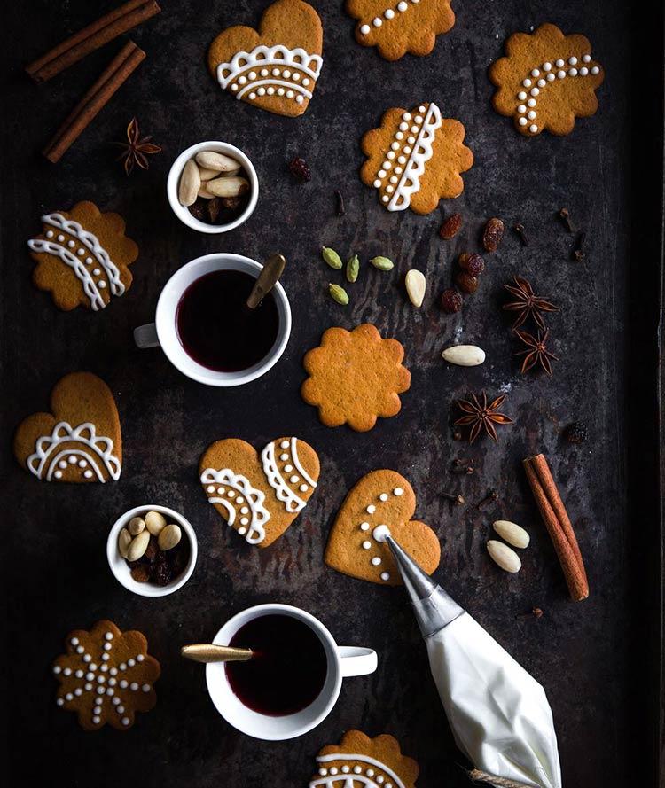 Pepparkakor, galletas de jengibre tipicas de suecia