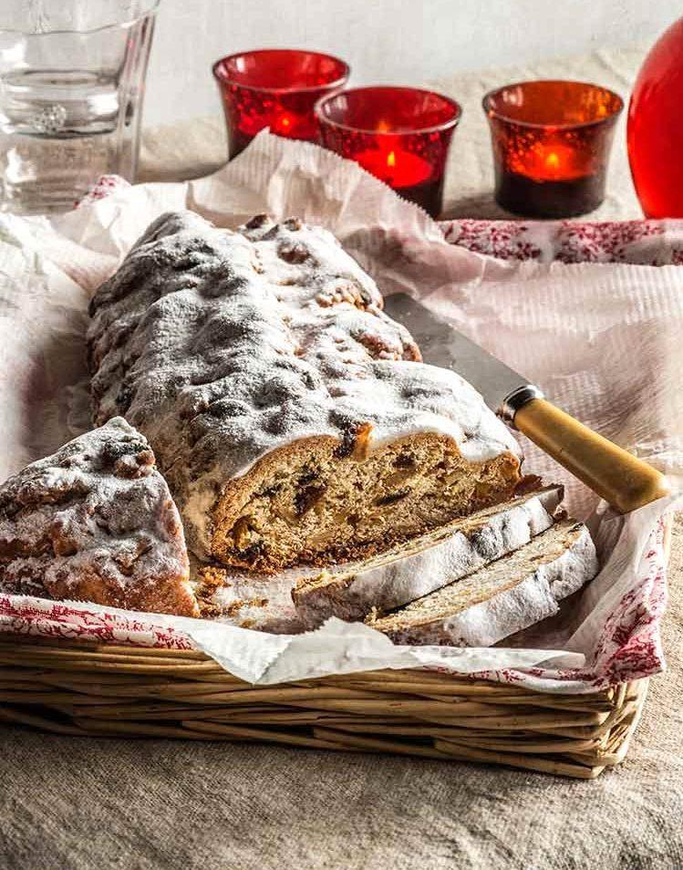 Stollen, pan tradicional alemán de navidad