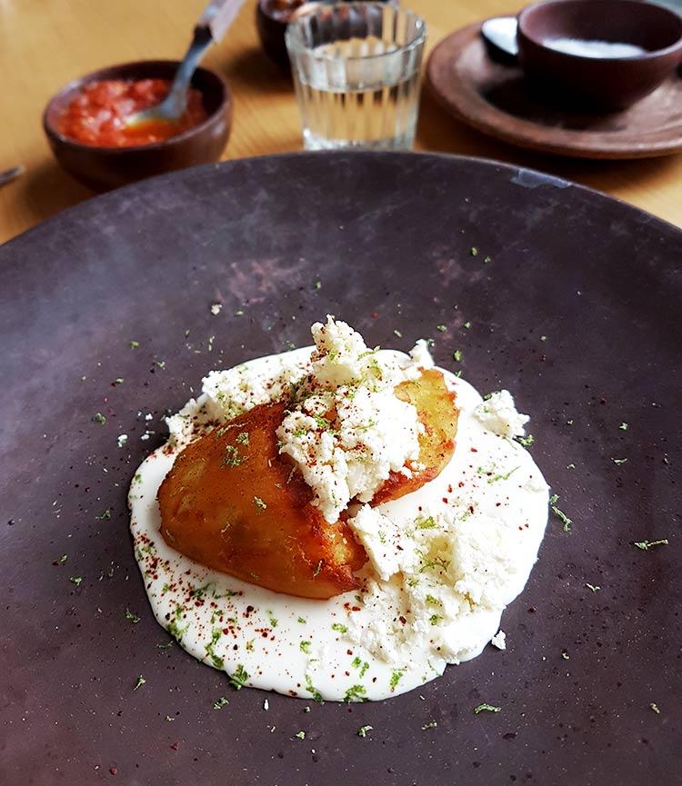 Restaurante criollo en oaxaca, reseña en Maria Orsini