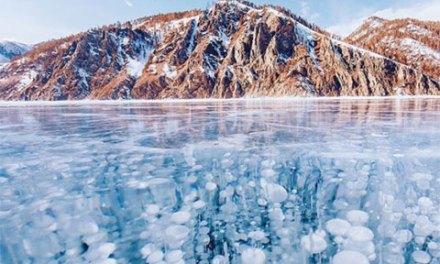 Las fotos más impactantes del antiguo lago Baikal