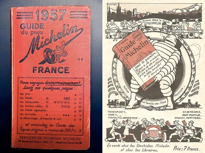 el origen de la guía michelin