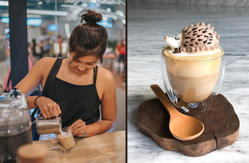 Lattes tan tiernos que no te los podrías tomar – arte en la espuma del café