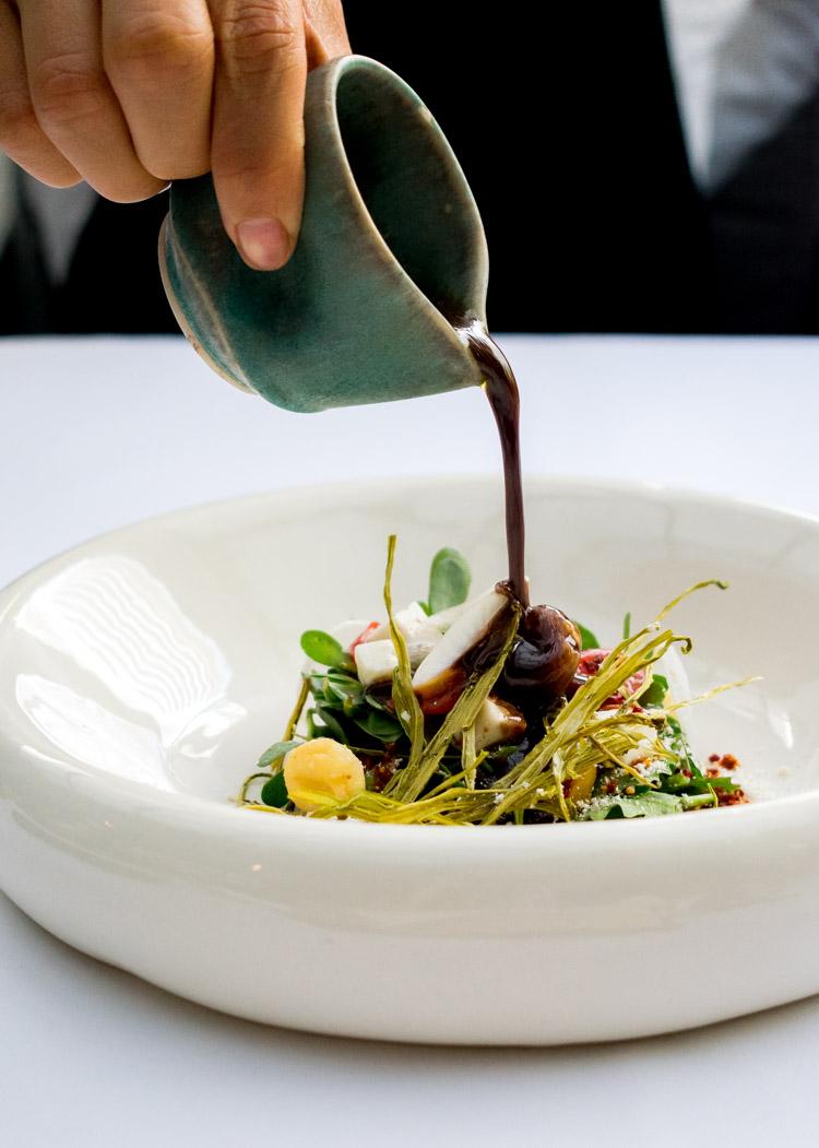 Restaurante Raíz Polanco, reseña en revista maria orsini