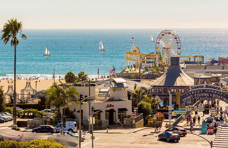 Destinos de verano que son mejores en otoño: Santa Monica