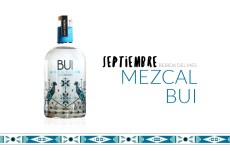 Mezcal BUI, la bebida del mes de septiembre