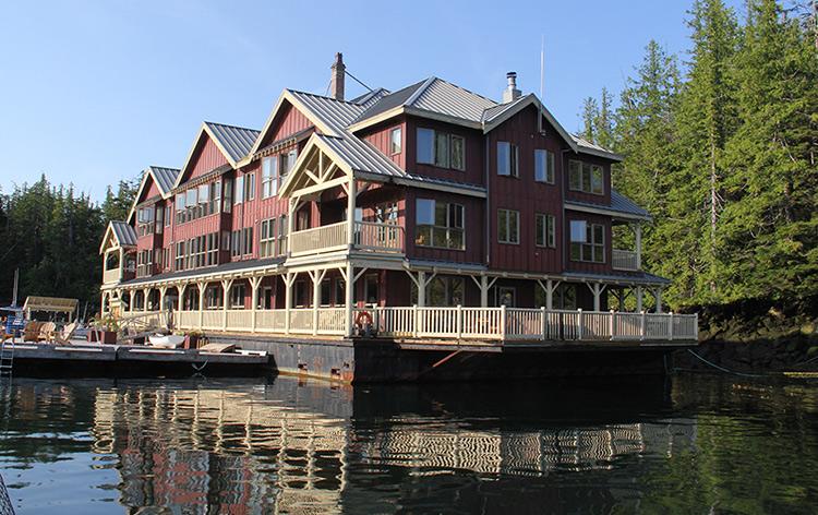 Hoteles flotantes: King Pacific Lodge en Canada
