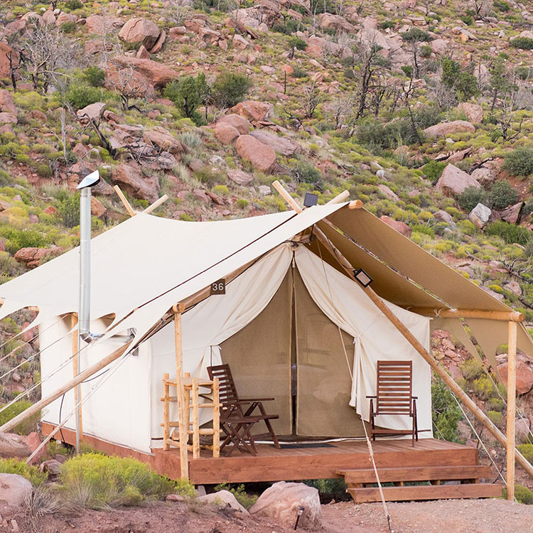 Hoteles boutique, undercanvas arizona, gran cañon
