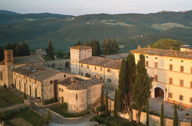 Hoteles para foodies, Belmond Castello di Casole