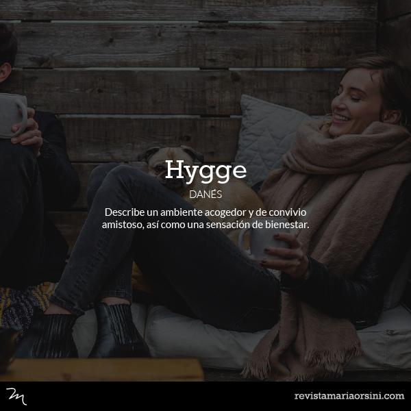 Hygge - Palabras deliciosas sin traducción