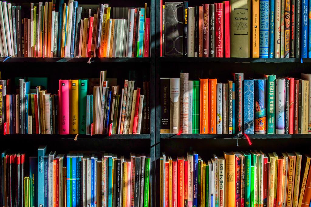 Sección de libros recomendados
