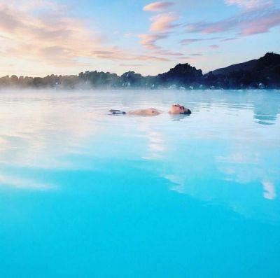 La laguna Azul en Islandia, un espectacular santuario de ...